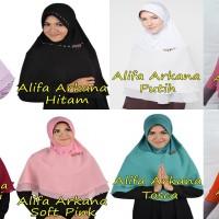 ALIFA ARKANA / Jilbab Pesta Instan Panjang / Bergo / Hijab