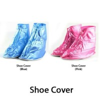 Jas Hujan Sepatu / Shoes Rain Cover Bahan PVC Waterproof + Sol pvc