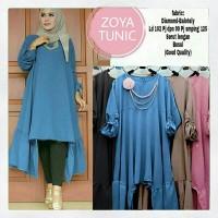 model baju muslim gamis terbaru dan modern Zoya Tunik