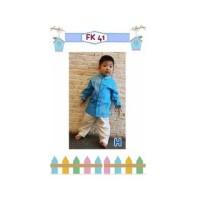 Setelan IMPORT Baju Koko Anak Laki Laki Celana Panjang 158