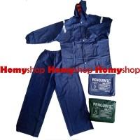 Mantel/Raincoat/Jas Hujan Jaket-Celana Penguin Size XXL Berkualitas