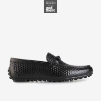 ORIGINAL Andrew Chazz Black Leather Sepatu Formal Kulit