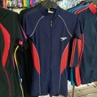Baju renang diving pendek merk speedo