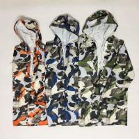 Jas hujan anak / jas hujan setelan celana / army dolphin / GRC - 5585