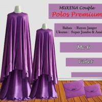 Mukena Bali Couple Polos Premium