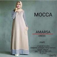 Amarsa Dress / Gamis / baju muslim / hijabers / hijab model baru MURA