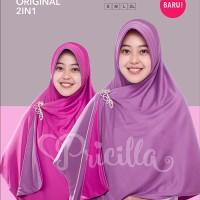 Sweet Violet M - Jilbab / Hijab / Krudung Pricilla Bolak-Balik - P12