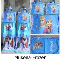 Mukena Frozen Biru Remaja
