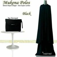 Mukena Bali Polos Jumbo