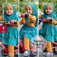 Gamis Anak Balita | Baju Anak Muslim Online | Setelan Gamis 1-2 tahu S