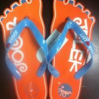 Sandal Joger Jari-2 Orange/L.Blue