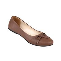 Sepatu Wanita Zeintin Bahan SP SB 7024 Coklat