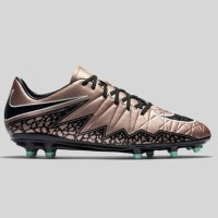 Sepatu Bola Nike Hypervenom Phelon II FG Bronze Original Asli Murah
