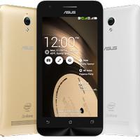 Handphone Smartphone Ponsel Asus Zenfone C Ram 2gb blue Second Nego