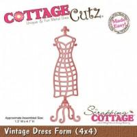 Cottage Cutz Dies - Vintage Dress Form