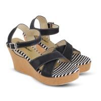 Wedges Sepatu Sandal Wanita|Harga Grosir|Bandung Cibaduyut|JK 218