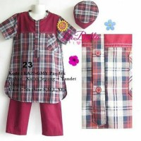 Promo Baju Koko Anak Yandet Labella KA27 GMY Pendek - 0223 Terlaris