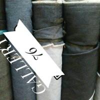 Kain jeans import/Bahan jeans/Jeans sisa garment