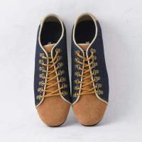 Sepatu casual slip on pria model tali murah unik terbaru santai