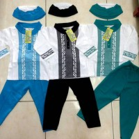 Pakaian Koko Anak Muslim Laki - Laki