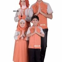 Baju Anak Muslim Koko  Kaos Lengan Pendek AKA 05 Umur 0, 2, 4, 6 Tahun