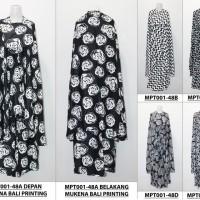 Peralatan Sholat Wanita mukena bali dewasa batik seri 48 Bahan