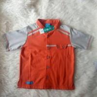Promo Baju Koko Anak Murah Alnita AKA-05 Orange