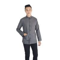 [Terlaris] Baju Koko Lengan Panjang Simple Elegan (Medina Fashion)