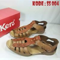 Sepatu Sandal Kickers Wanita Grade Ori Kw Super Bahan Kulit Sapi Berku