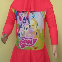 Baju Renang Anak Muslim Karakter Little Pony BRAM-K062TK