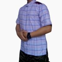 Baju Koko Pria Lengan Pendek Bahan Tekstile India (dm09A)