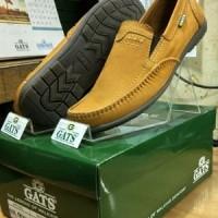 Sepatu Casual Pria Terbaru Gats Original Murah Berkualitas HK 0002 TAN