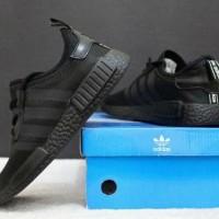 sepatu adidas nmd import - sneakers pria sport joging badminton futsal