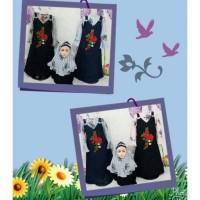 gamis anak perempuan setelan baju muslim anak perempuan lucu unik