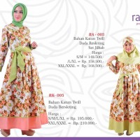 Rauna 005 - Couple Ibu dan Anak - Jual Baju Couple Muslim Original