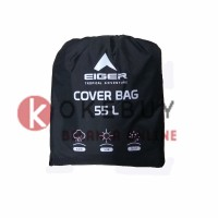 G897 Eiger 55L Rain Cover/ Cover Bag / Jas Hujan/ Mantel Tas
