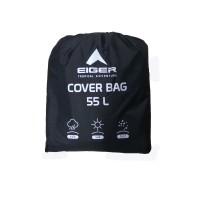 G897 Eiger 55L Rain Cover/ Cover Bag / Jas Hujan/ Mantel Tasa Black