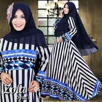 Hijab Modern Zola Syari 2in1 ( Dress Busui + Jilbab Bergo ) Baju Gamis