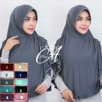 Kerudung/Jilbab Hazna Syar'i original / hijab jilbab premium butik