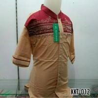 Baju Anak Muslim Baju Koko Lengan Pendek Pasar Tanah Abang KKT 012