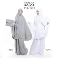 Mukena Dewasa Rayon Polos Premium