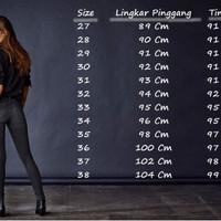 ERLARIS Celana Soft Jeans LEVIS 505 BLACK|HITAM Skinny WANITA GROSIR B