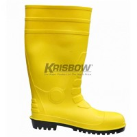 Recommended ! Sepatu Boot - Safety Boots Xl-43-44 Yellow    Krisbow