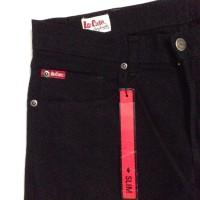 Celana Jeans Lee Cooper original Slim fit solid Black