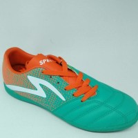 Terbaru Sepatu Futsal Specs Original Equinox Hijau Tosca/Orange New