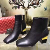 Jual sepatu boots branded kulit prada wanita cewek mirror