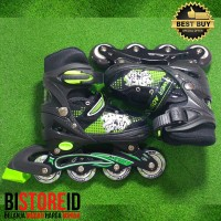best seller Sepatu Roda Power Aosite Ban Karet PU 7100 Hijau bajaj