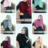 Scarf Hijab Instan Jilbab Zoya Syari Khimar Syar'i Bergo Attalia