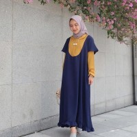 Supplier Hijab Gamis Cantik Jual dress Murah/Grosir dress