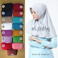 Kerudung Jilbab Instan Bergo Zaria M Almeria Elzatta